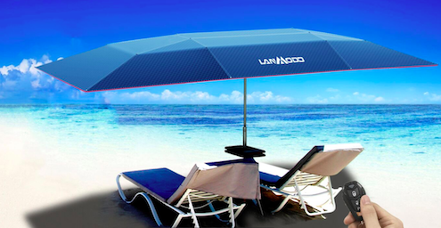 There is nothing that will make you look cool on the beach like and a car beach umbrella tent. With this kind of car protection you wonu0027t have to go very ... & Keep Your Car Cool with Lanmodo Beach Umbrella Tent - UUNATEK