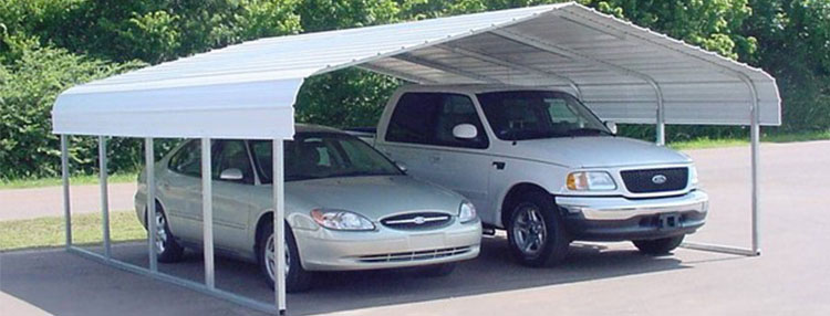 Metal Car Canopies : Car canopy materials for your vehicle top choices uunatek